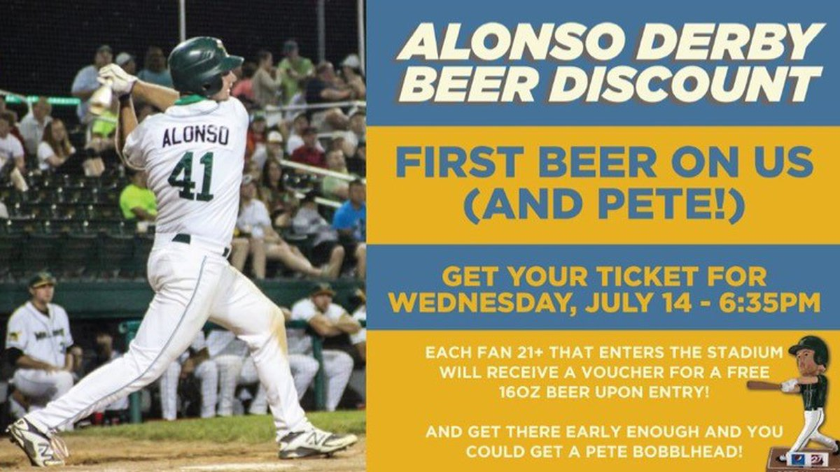 The Madison Mallards offer a free beer to fans on Wednesday, July 14, 2021, to celebrate Pete...