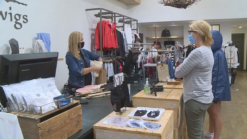 """Retailers are seeing more people move away from """"traditional"""" business wear and towards more..."""