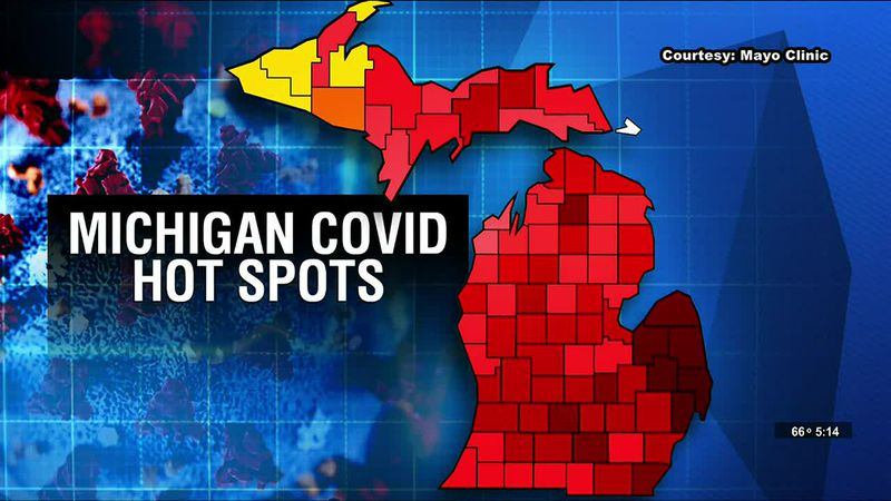 Michigan continues to be coronavirus hotspot