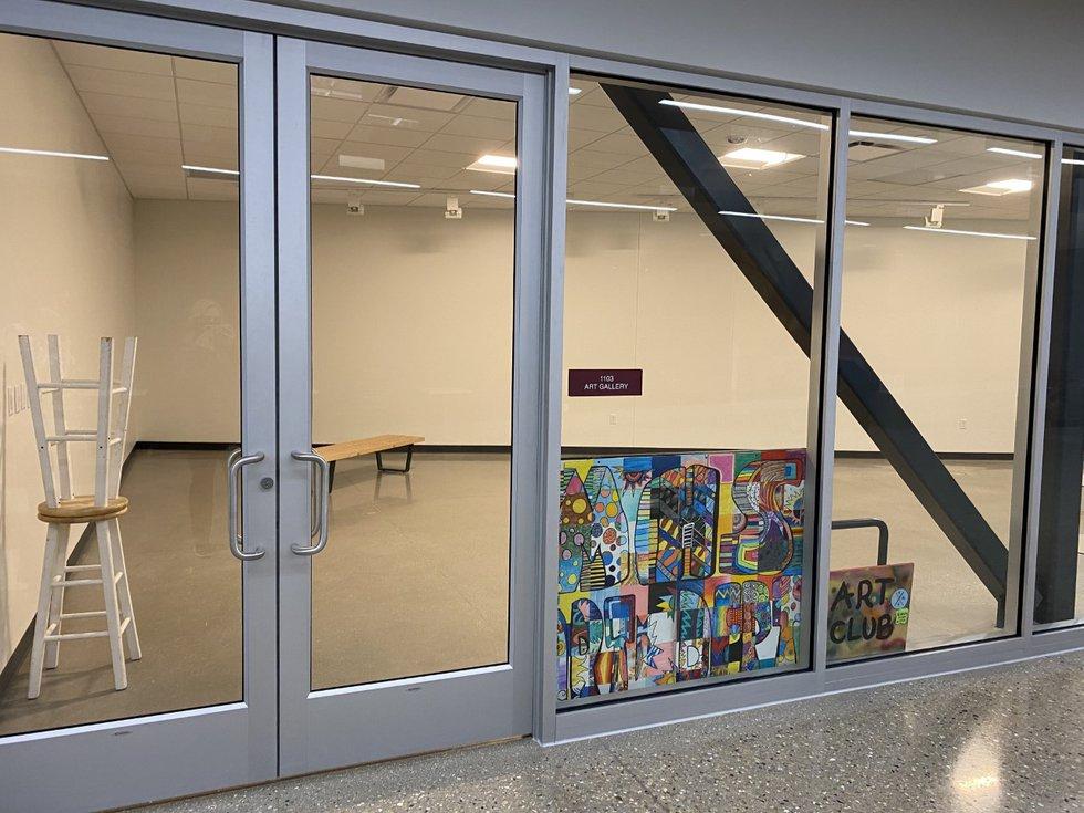 Middleton High School North Wing art studio