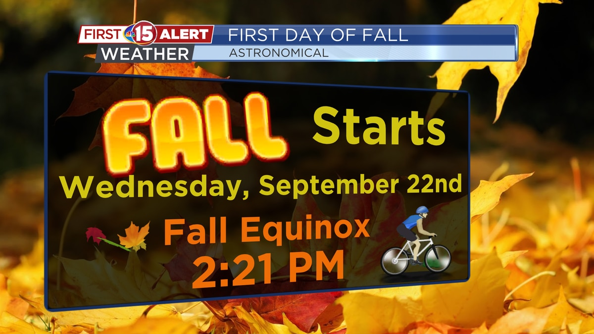 The Fall Equinox arrives at 2:21 PM