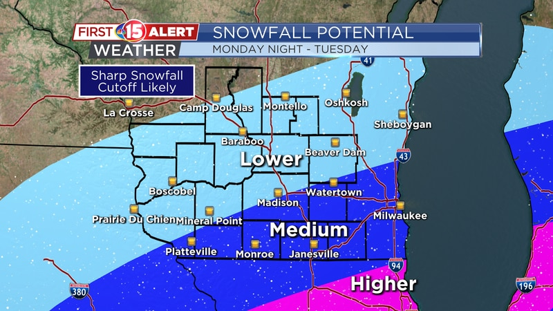 A Winter Storm will impact northern Illinois tomorrow evening into Tuesday. Counties along the...
