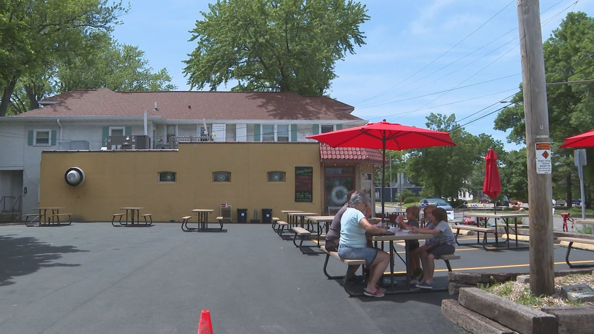 New outdoor seating permit allows Madison restaurants and cafes to operate at what would be...