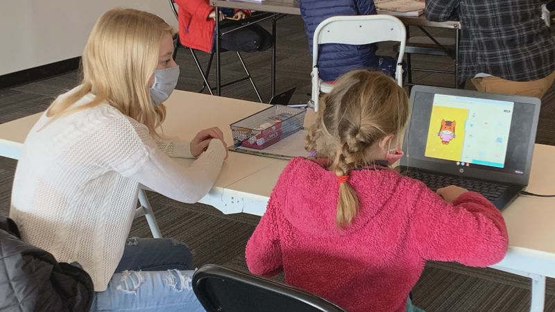 Two Middleton high school students developed a tutoring service after seeing kids struggle with...