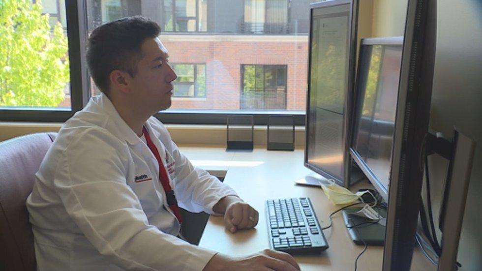 Dr. Mike Repplinger, an associate professor of emergency medicine at UW Madison, has seen data...