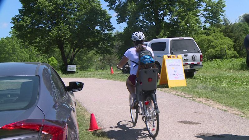 The yearly event usually takes place on John Nolen Drive and at Olin Park, but the Parks...