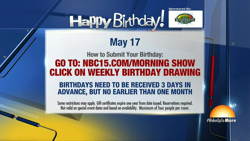 Birthdays for May 17
