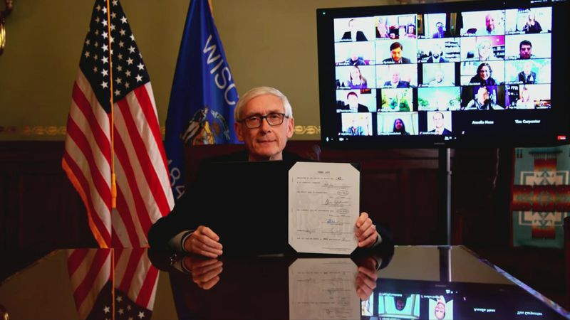 Gov. Tony Evers has signed into law a bipartisan bill that will boost pay for state public...