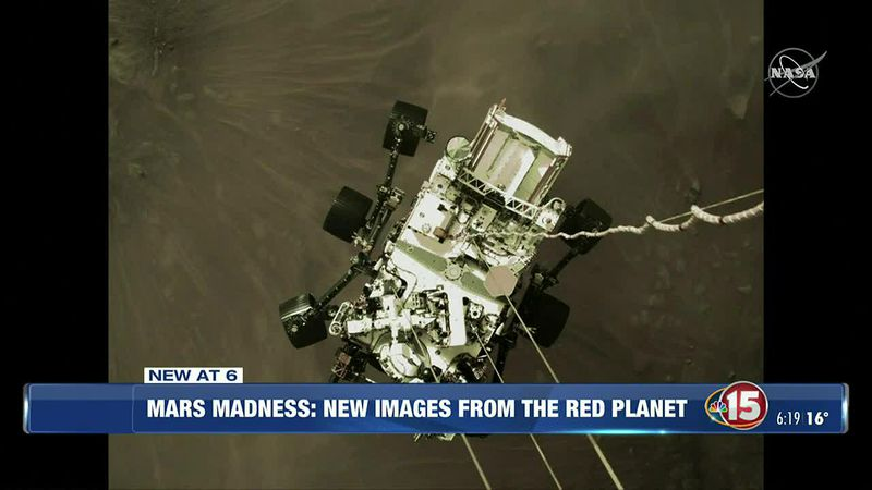 First Images Return from Mars Rover