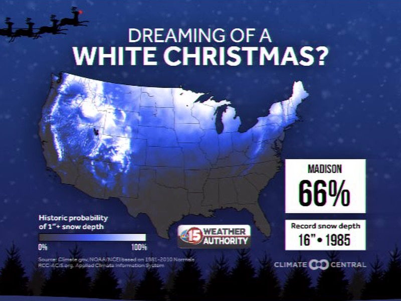 White Christmas Forecast 2020 Usa Warm pattern doesn't bode well for White Christmas