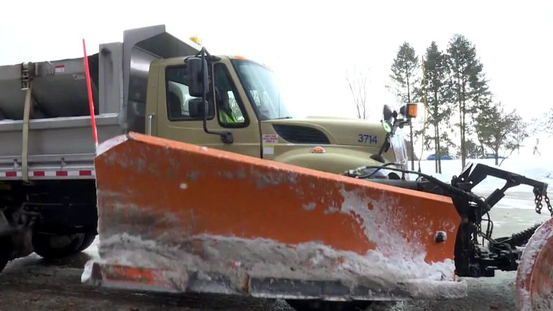 It can take 12 to 16 hours to plow all the city's streets.
