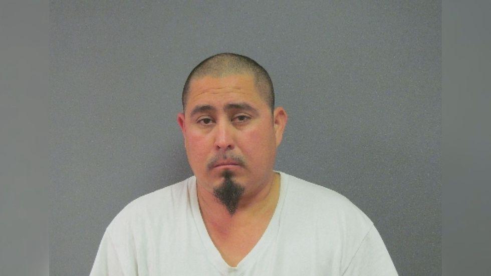 Mug shot of Charlie Rosas after arrest in 2013
