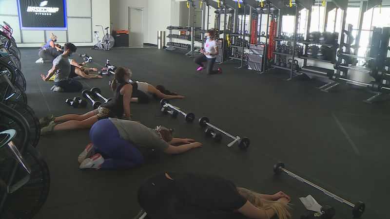 Under the new Dane County emergency order, gyms are allowing more people into their group...