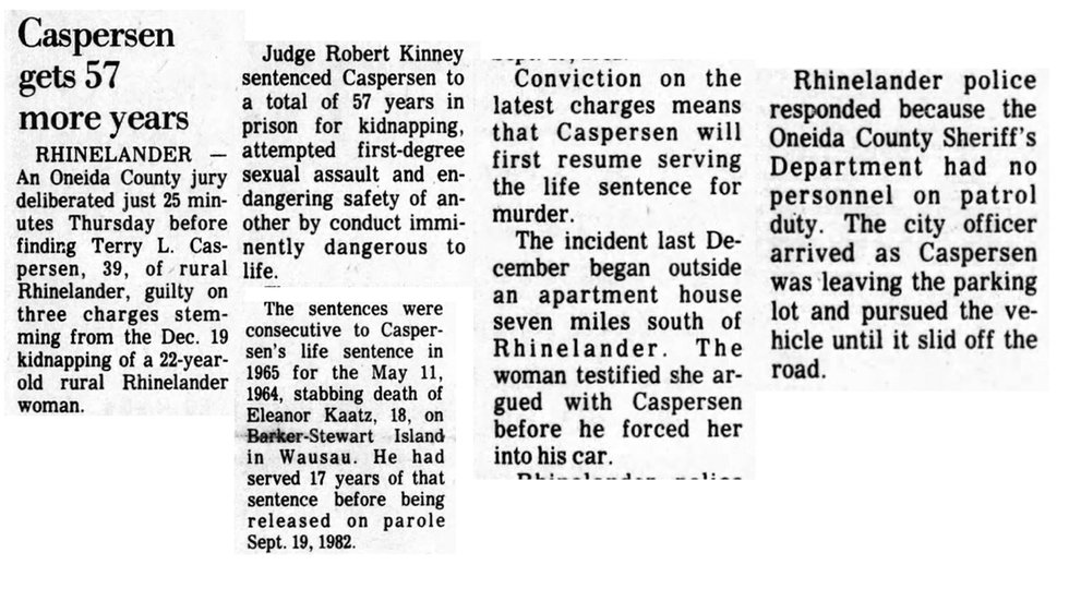 Wausau Daily Herald article April 2, 1982