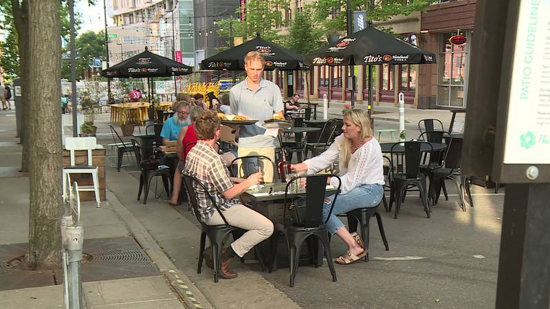 """More Madison businesses are taking advantage of the city's """"Streatery"""" program to expand..."""