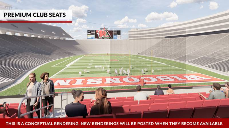 Wisconsin Athletics provided an updated timeline for Camp Randall Stadium's south end zone...