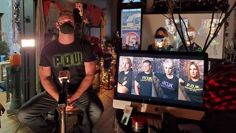 Jason Bertram and his team investigate claims of paranormal activity