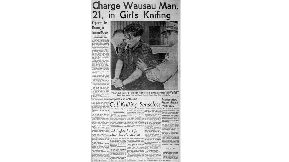 Wausau Daily Herald article from May 12, 1964