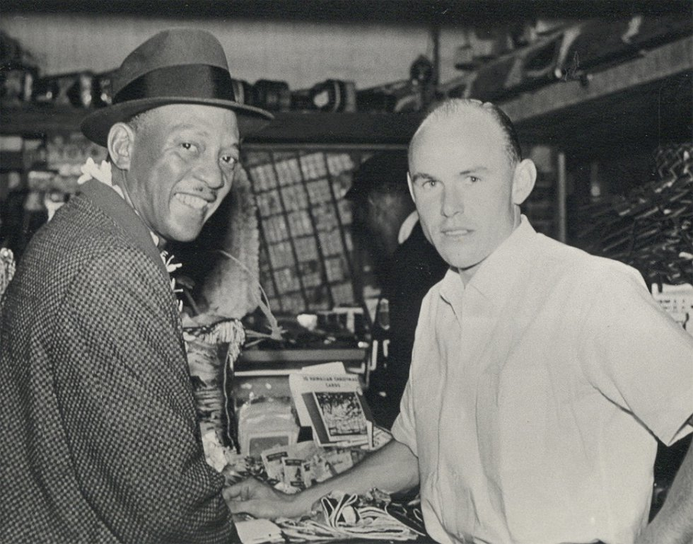 Widely considered one of the greatest athletes to ever live, Jesse Owens accompanied Bennett on...