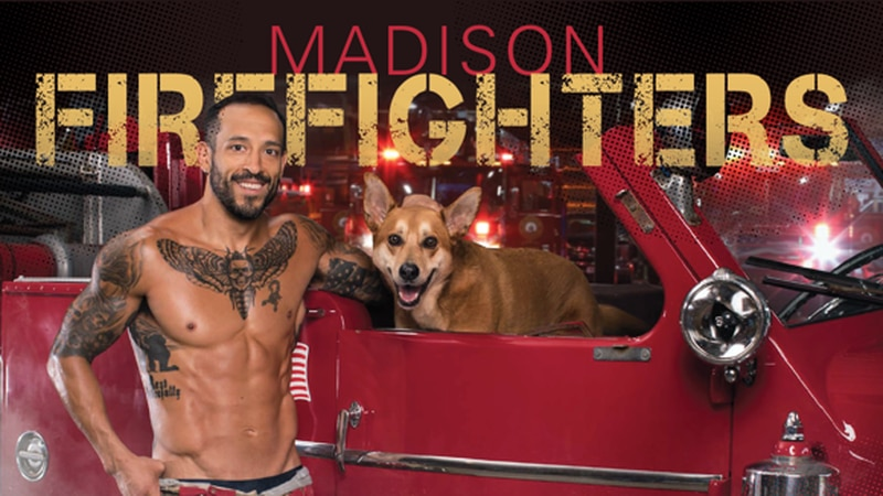 Local firefighters pose with adorable rescue pets to raise money for DCHS
