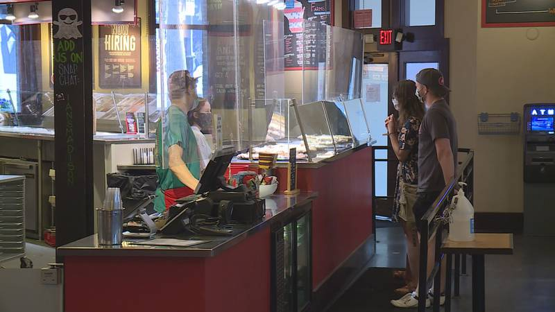 Ian's Pizza on State Street is considering how to respond as a business to the county's health...