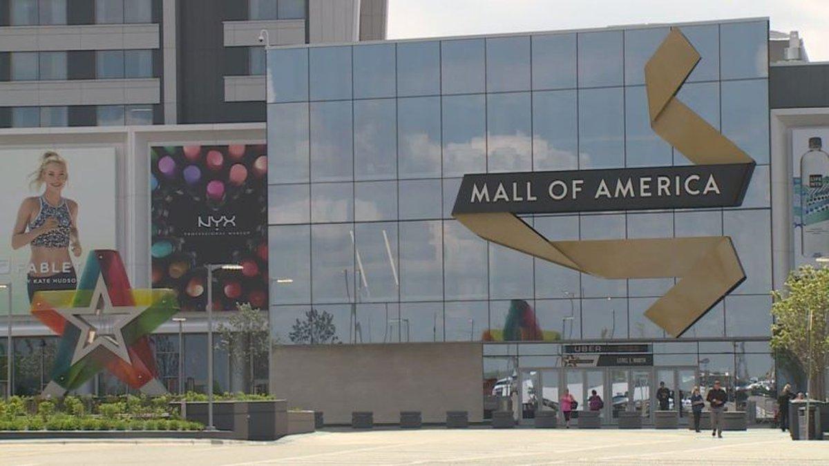 Mall of America in the Minneapolis area (KARE11).