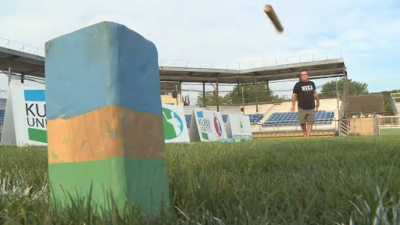 Kubb is a lawn game that involves throwing wooden batons at blocks, called kubbs, in order to...