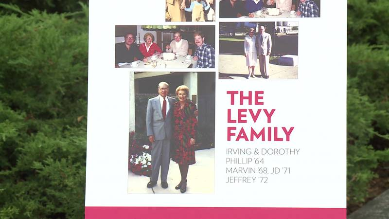 Irving and Dorothy Levy Hall is made possible with a lead $20 million gift commitment from...
