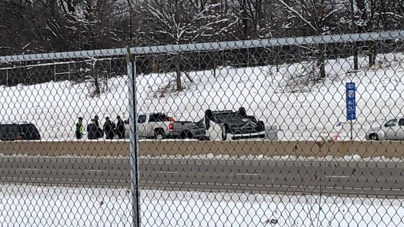 A rollover crash on the Beltline Highway in Madison is causing traffic delays for westbound...