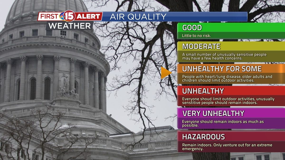"Air Quality Index could reach ""Unhealthy for Sensitive Groups"" this Weekend"