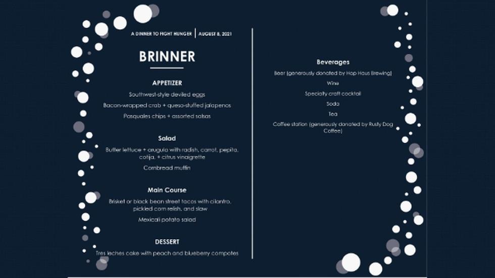 Brinner menu