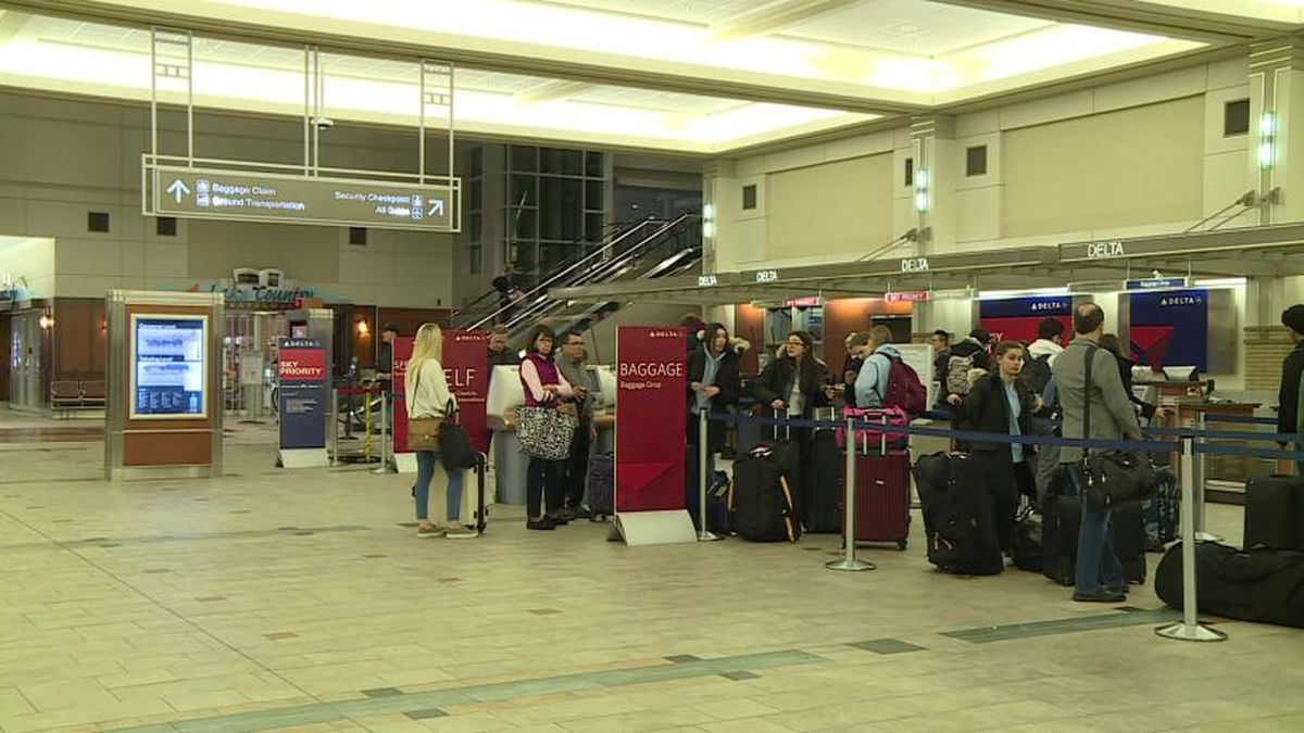 The Dane County Airport lobby (Source: WMTV)