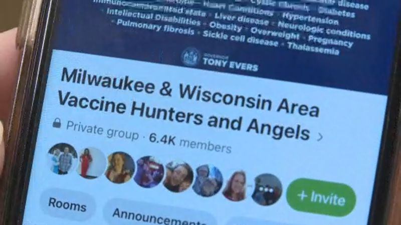 Facebook group 'Vaccine Angels' connects Wisconsinites looking for vaccine