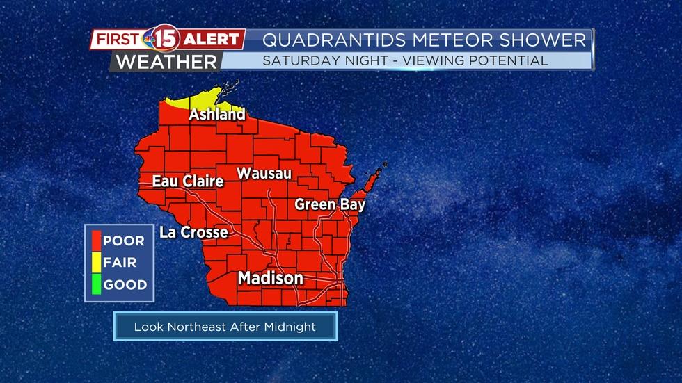 Quadrantids Meteor Shower - Viewing Potential