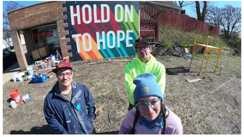 Making a Difference: Trio of artists says support of murals with positive messages exceeded...