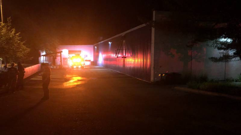 Atwood Ave. is back open after a fire at a commercial building in the 2400 block.