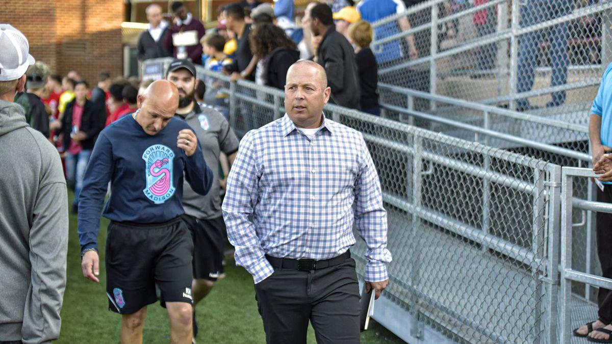Forward Madison parts ways with head coach