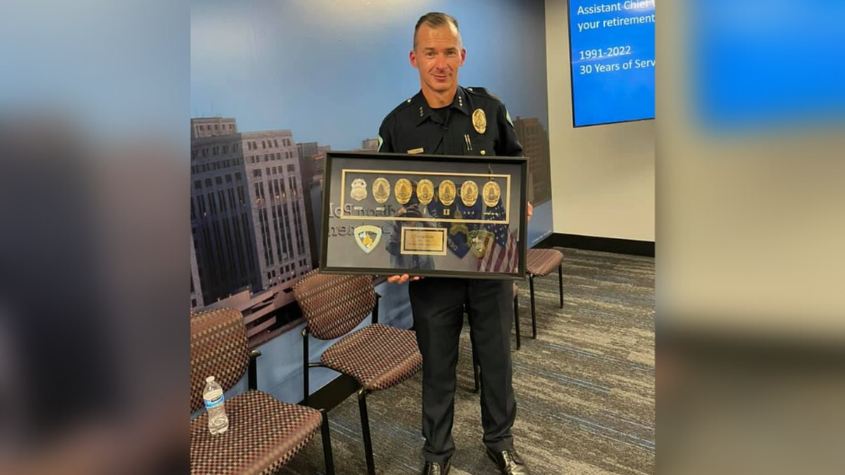 Assistant Madison Police Chief Victor Wahl retires after 30 year career.