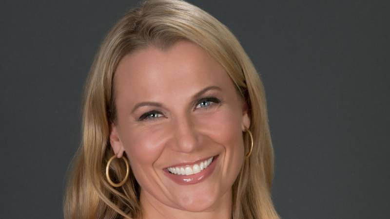 New Bucks TV play-by-play broadcaster Lisa Byington.