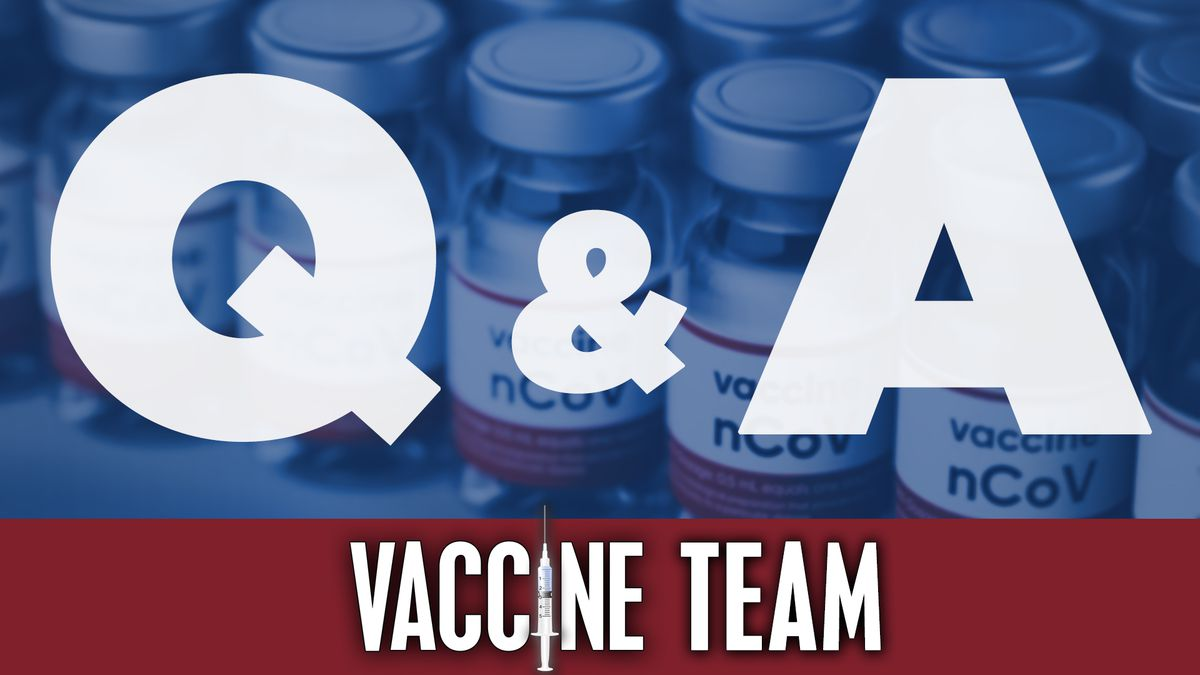Submit a question to the NBC15 Vaccine team.