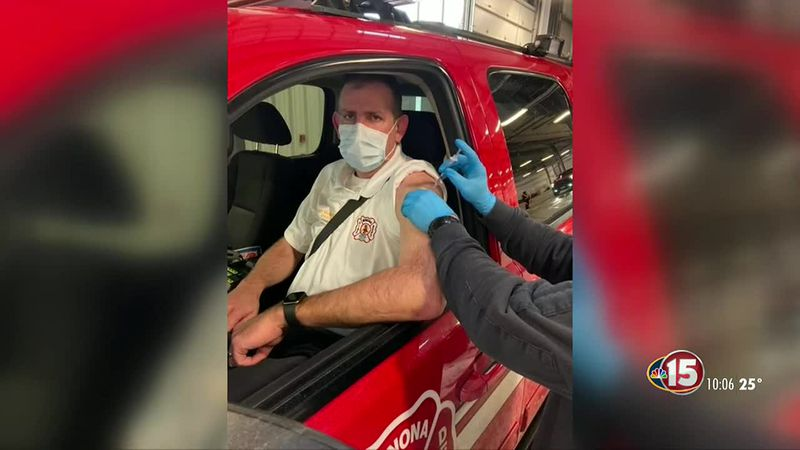 PHMDC vaccinates EMS workers