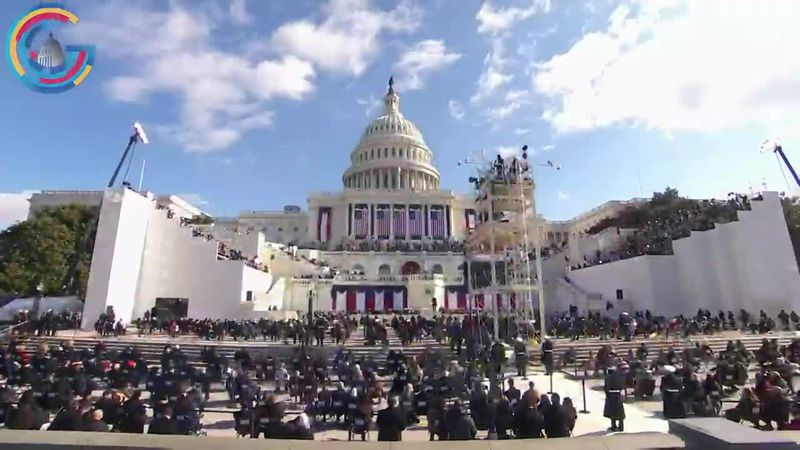 President Joe Biden and Vice President Kamala Harris are sworn in Jan. 20 at the Capitol.