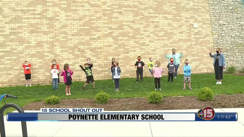 This NBC15 School Shout Out comes from Poynette Elementary School in Poynette.