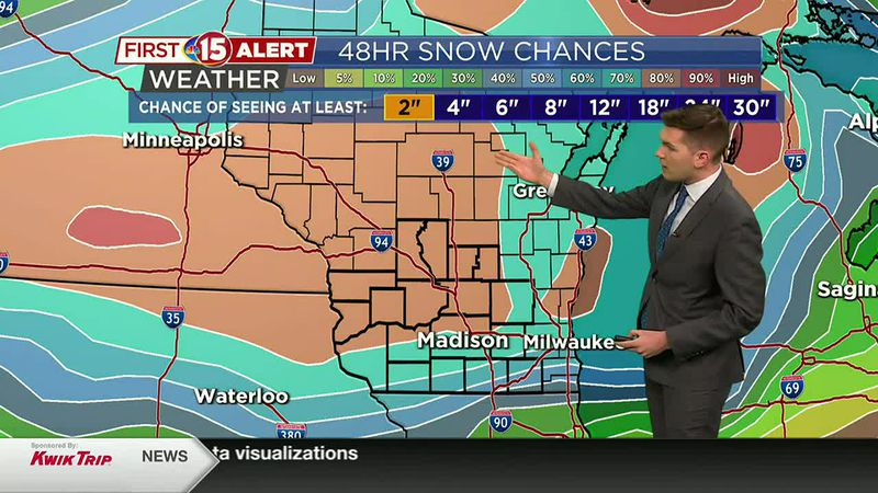 Snow Chances this Weekend