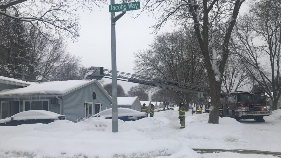 Four people were displaced in a house fire on Monday, Feb. 22, 2021, in the 1400 block of...