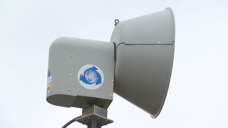 A Dane County warning siren