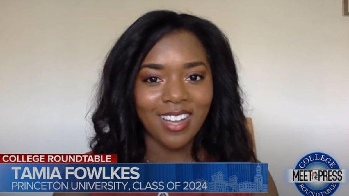 "Tamia Fowlkes on ""Meet the Press"" (Source: NBC)"