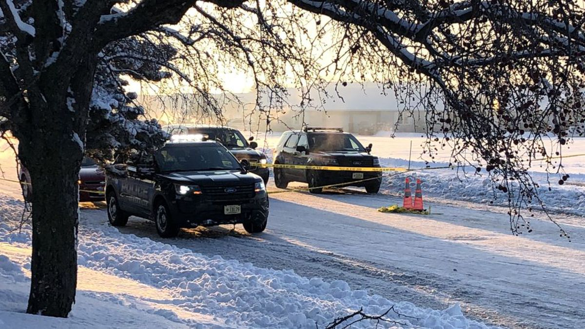The Janesville Police Department investigating a scene on Midvale Drive, on February 10, 2020....