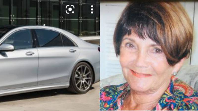 Collins drove away in her 2018 Mercedes Sat. afternoon and hasn't been heard from since.