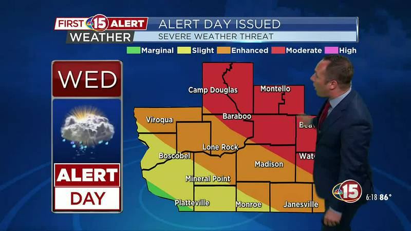 Moderate Risk Issued Tonight